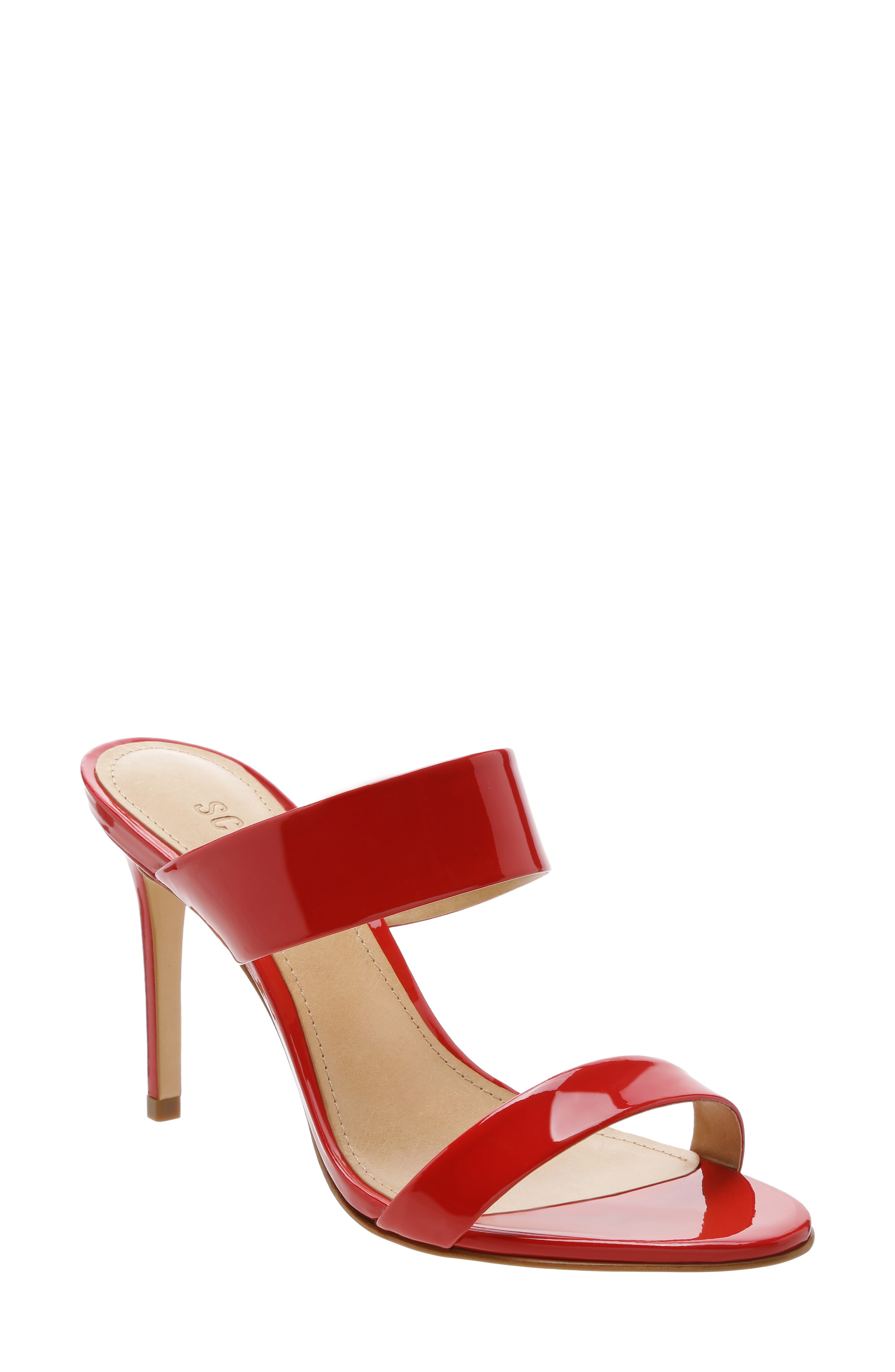334bb68dc9a Women'S Leia High-Heel Sandals in Club Red Patent Leather