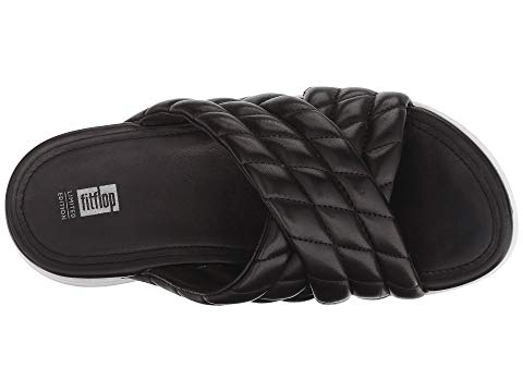 fb99477062388f Fitflop Loosh Luxe™ Cross Slide Leather Sandals
