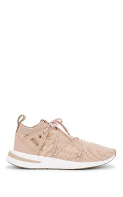 Women's Arkyn Knit Lace Up Sneakers in Pink