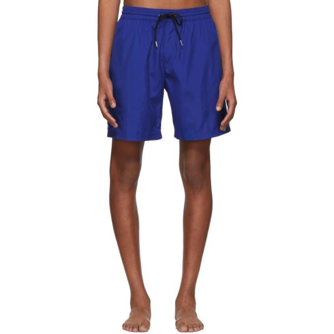 b7a932e66c Burberry Blue Guildes Logo Swim Shorts In Acijtbrnavy | ModeSens