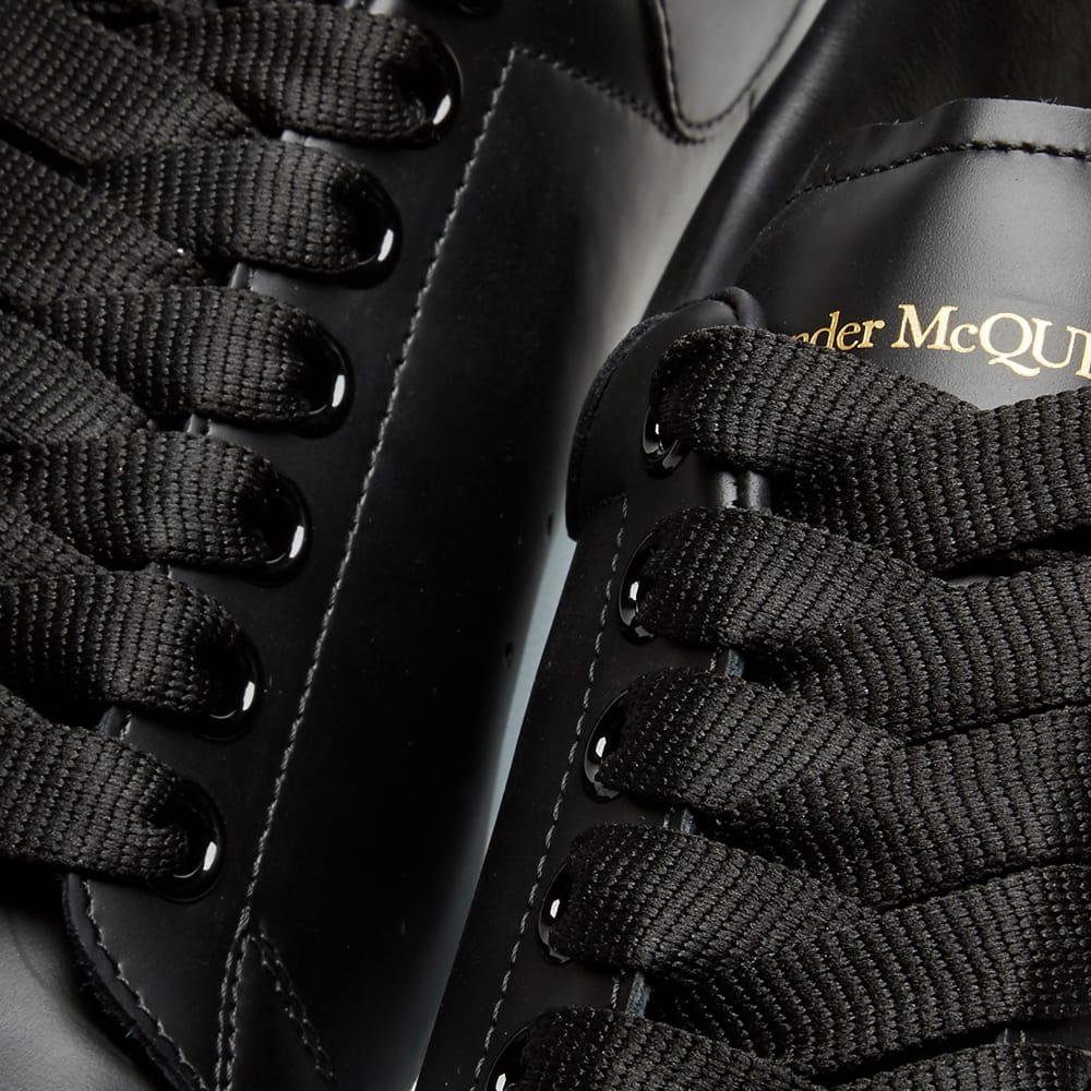 Alexander Mcqueen Men's Knitted Oversized Low-Top Sneakers In 1000