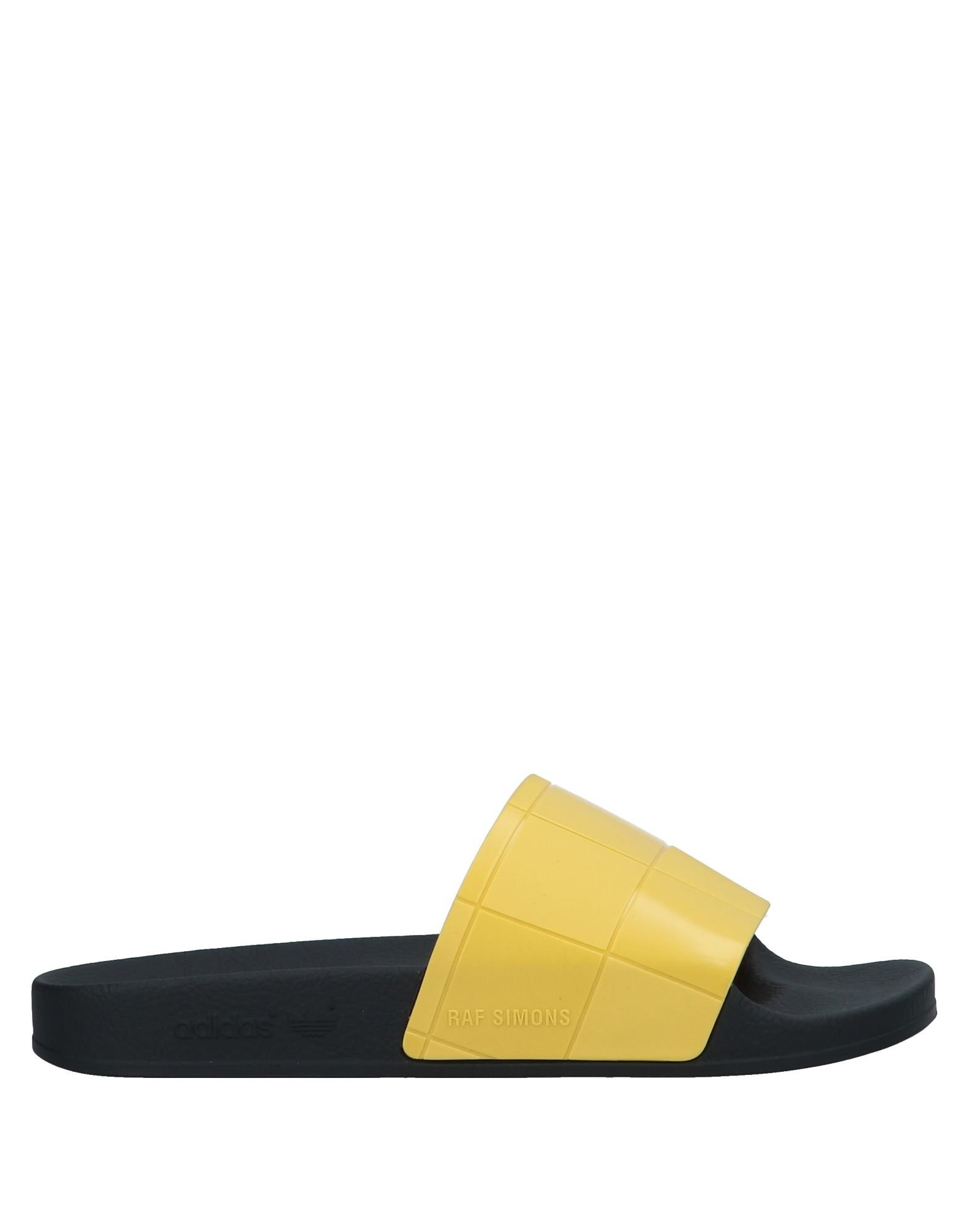aaac1e76c6d8 Adidas By Raf Simons Raf Simons For Adidas Women s Adilette Checkerboard  Slide Sandals In Black