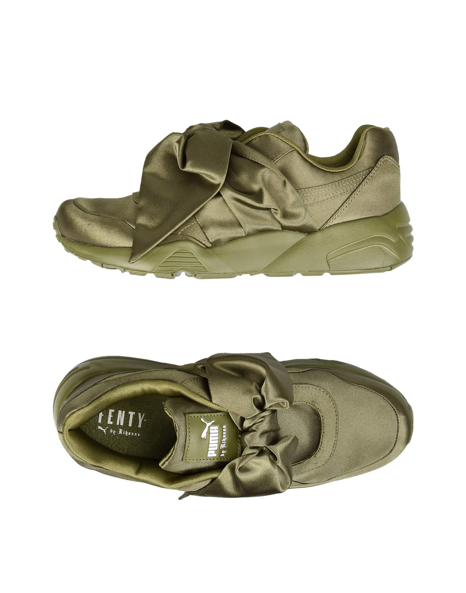 9507062f2fc238 Fenty X Puma Sneakers In Military Green