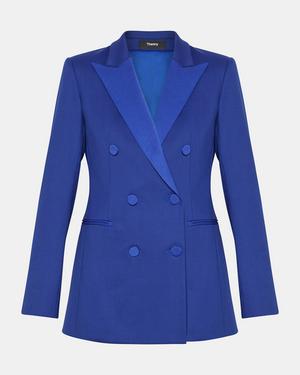 2510994b9e0a Theory Wool Tux Jacket In Cosmic Blue