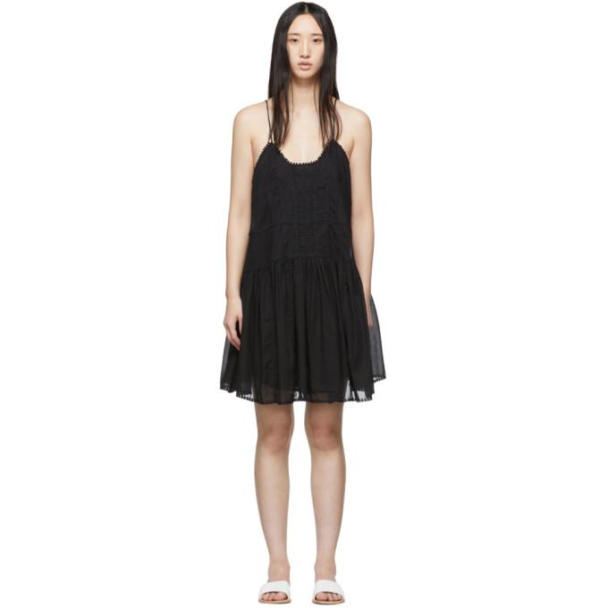 2f17f1c4a92 Etoile Isabel Marant Isabel Marant Etoile Black Amelie Dress In 01Bk Black