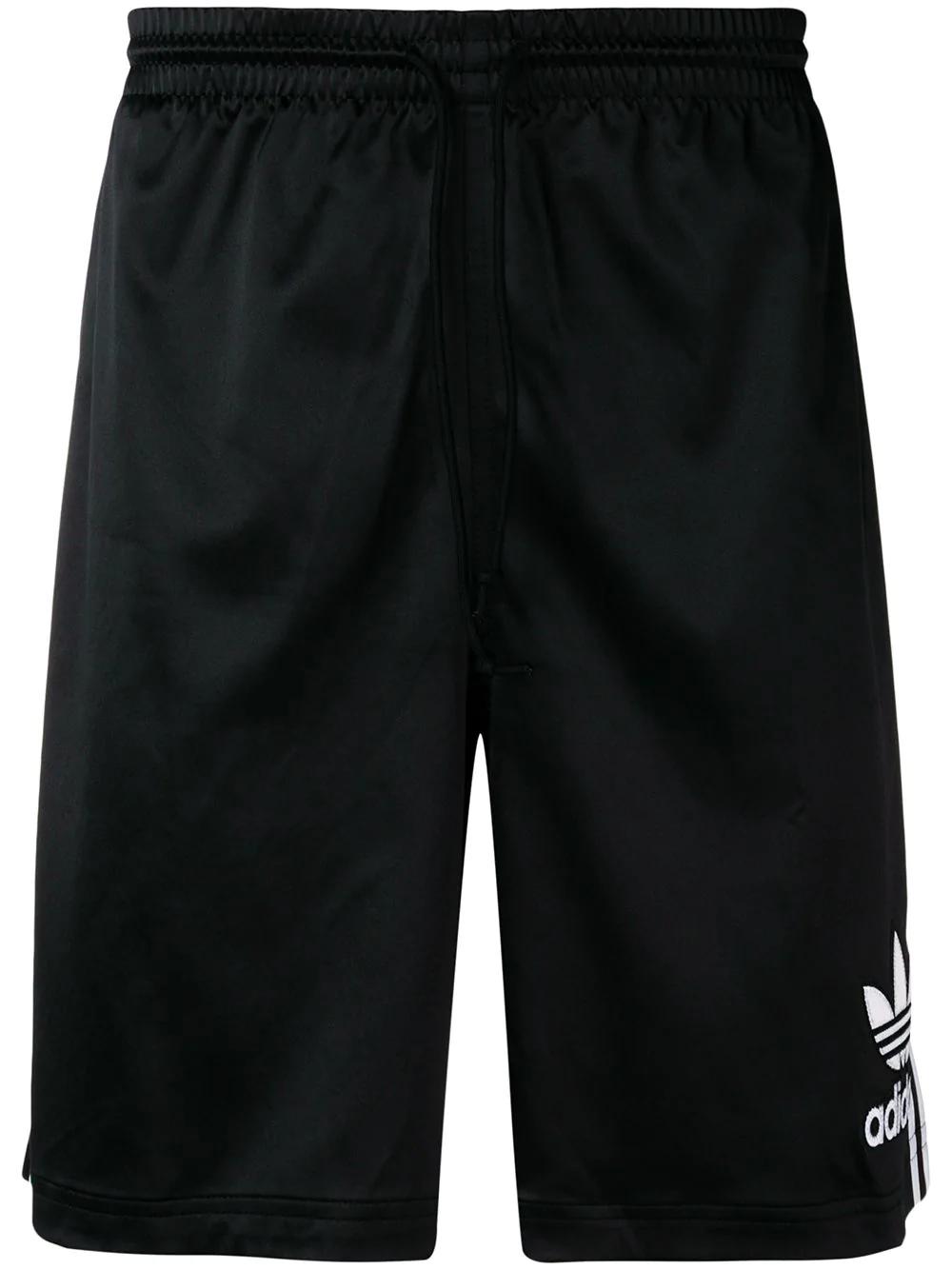 4ead48e738 Adidas Originals Adidas Shorts In Satinoptik - Schwarz In Black ...