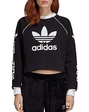db5e4f9d4b0 Adidas Originals Women's Originals Winter Ease Crew Sweatshirt, Black