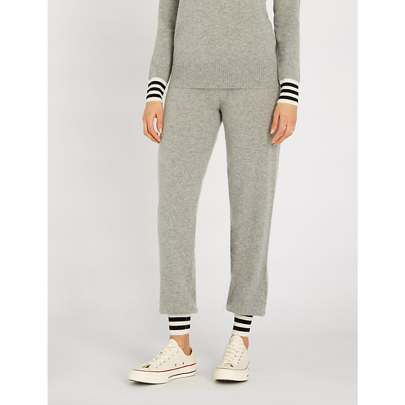 reputable site aab3b 472d1 Verona Cashmere Jogging Bottoms in Grey