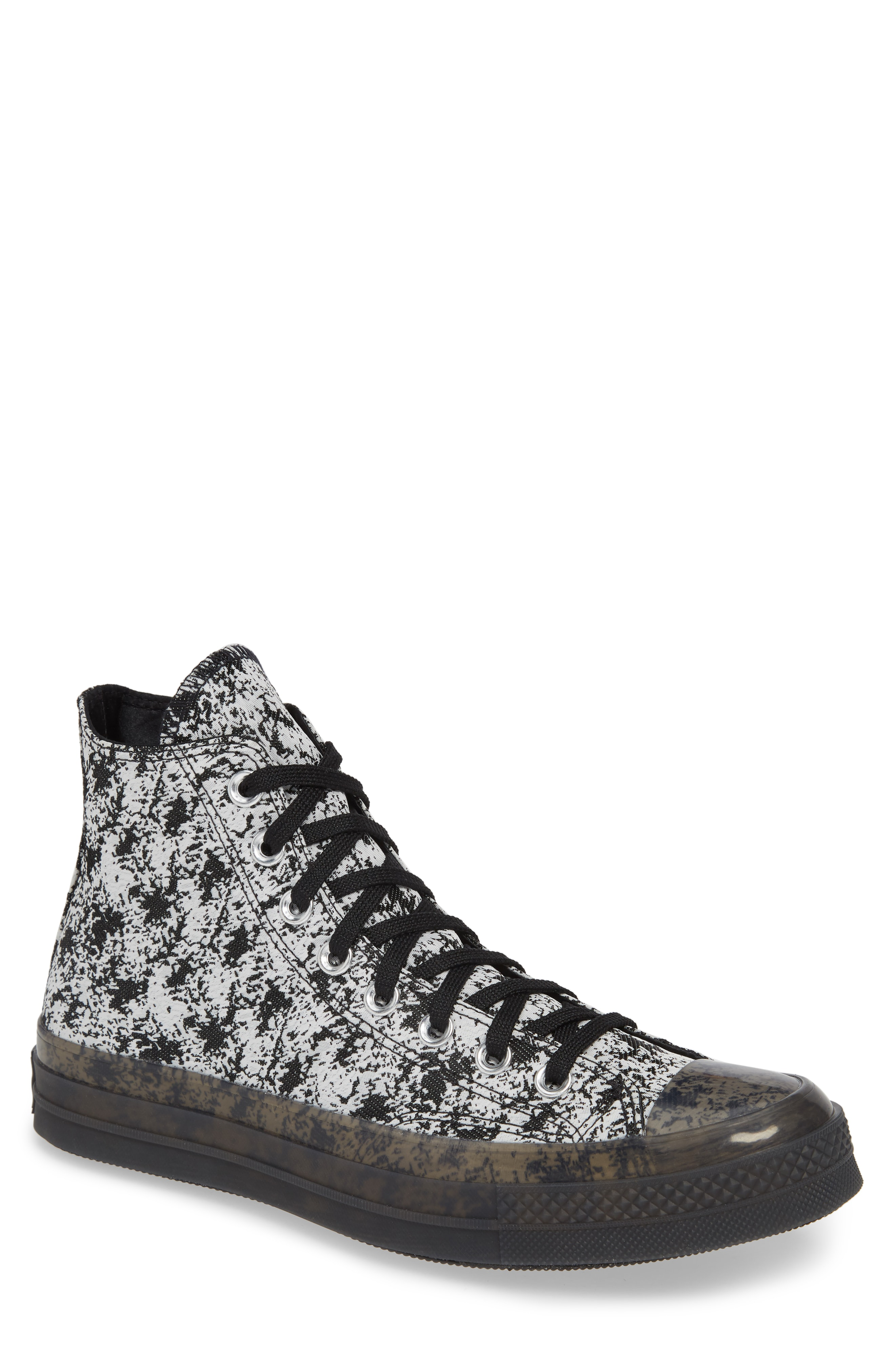 1e756e5d6caf Converse Men s Chuck Taylor All Star 70 High Top Casual Sneakers From Finish  Line In Black