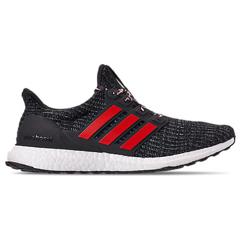 04d375d08dff2 Adidas Originals Adidas Men s Ultraboost Running Sneakers From Finish Line  In Core Black Scarlet