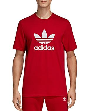 31c67ff7 Adidas Men's Originals Adicolor Trefoil T-Shirt in Red
