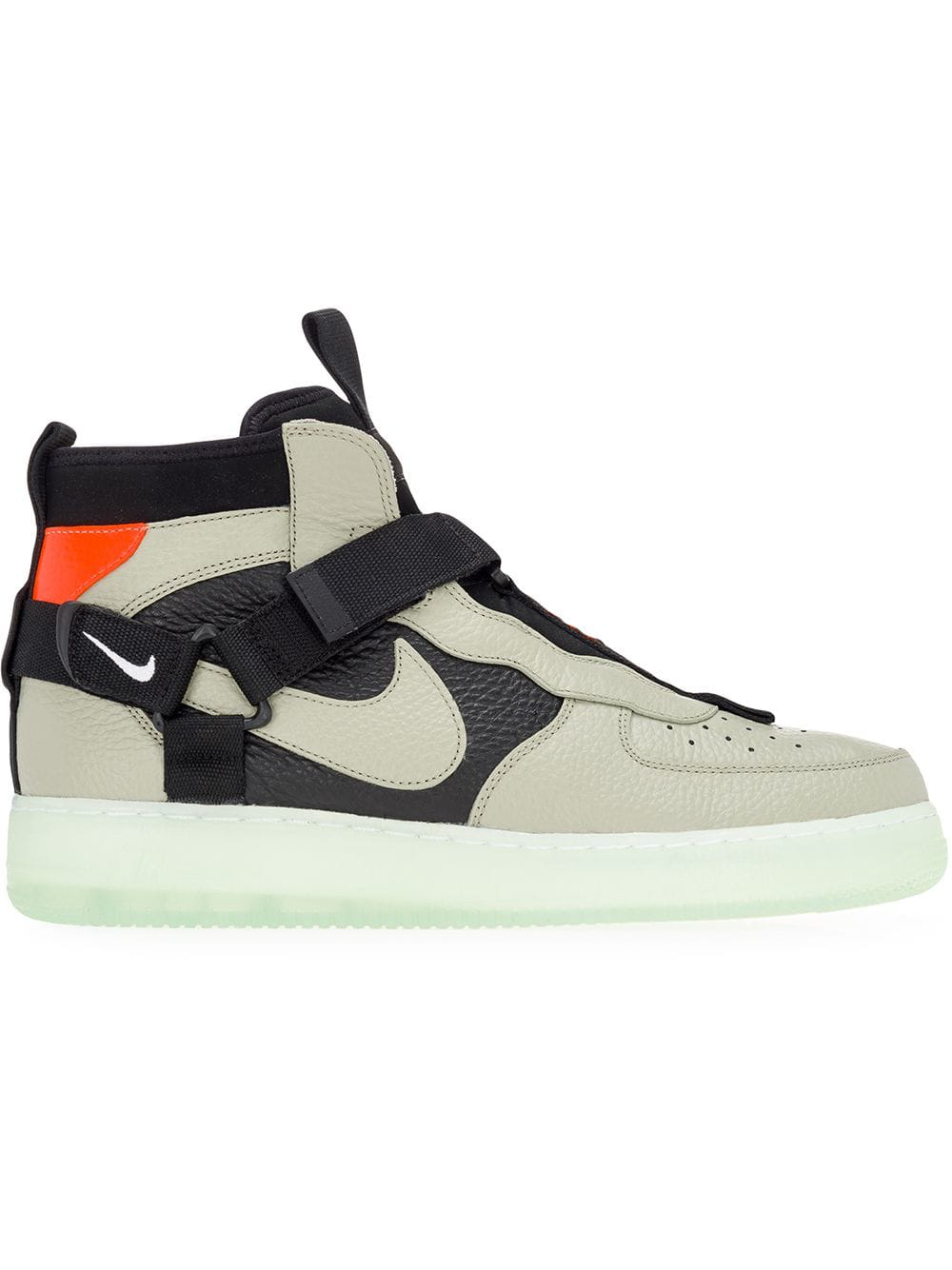the latest c2a5d d7542 Nike Men s Air Force 1 Utility Mid Casual Shoes, Grey In Verde300