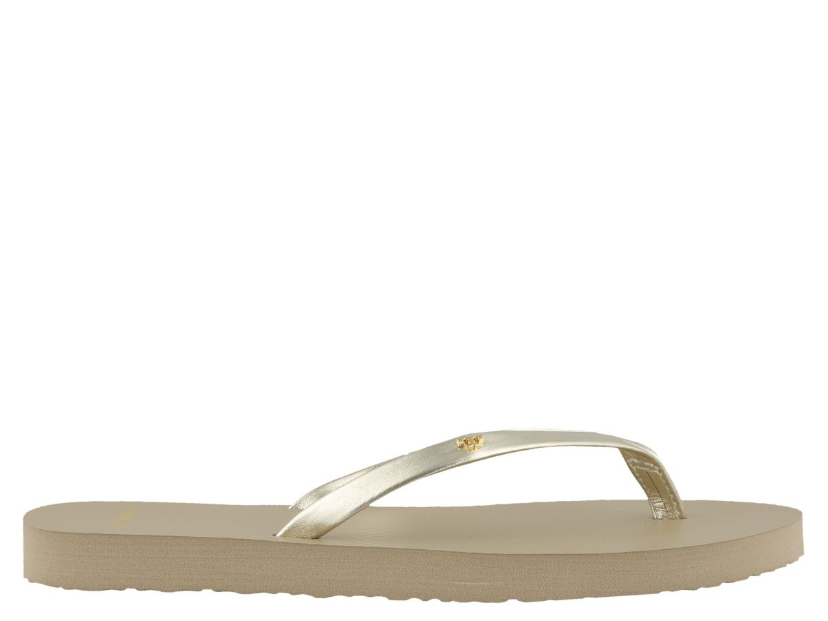 e5ff8d0ed25 Tory Burch Flip Flop Sandals In Gold | ModeSens