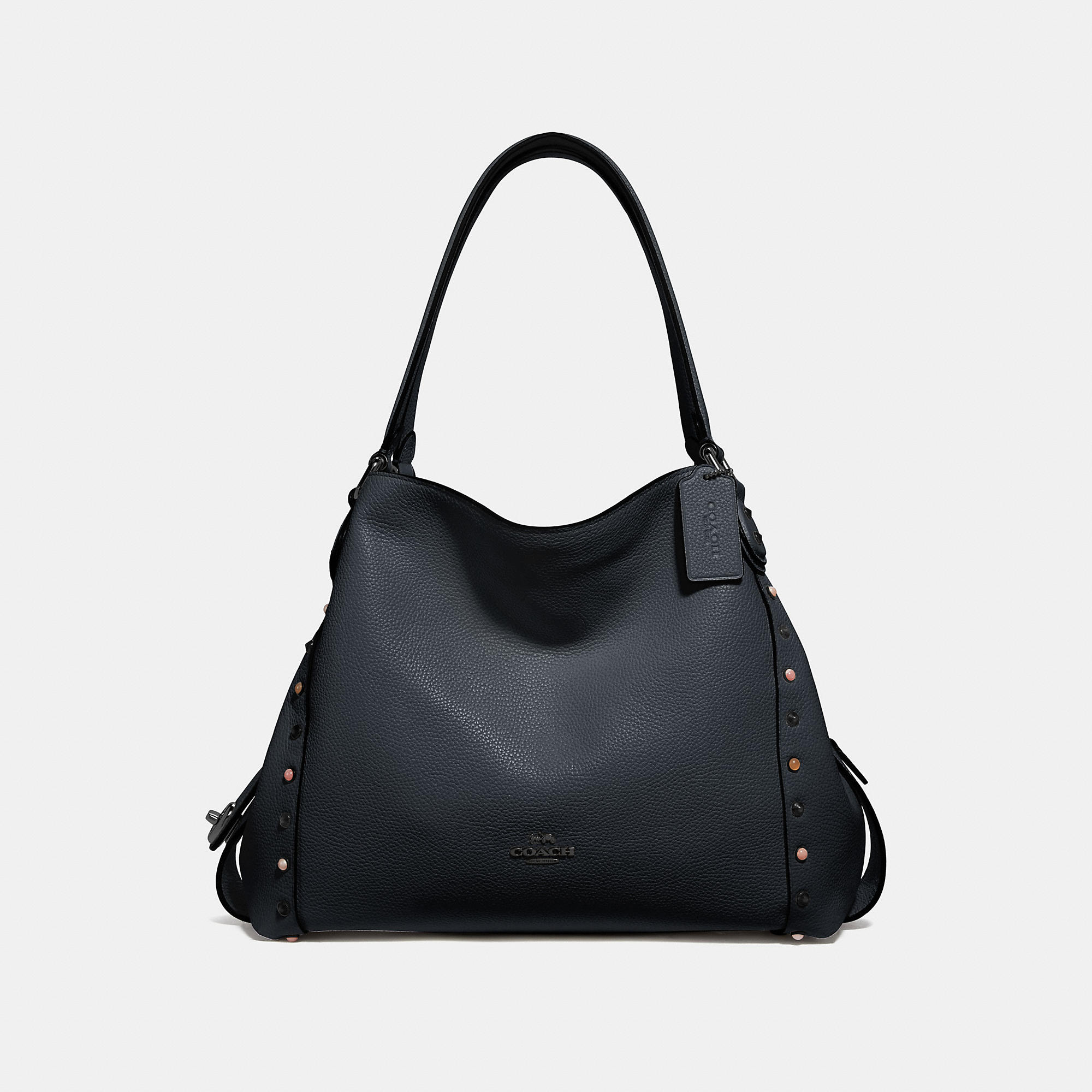 c234acca5b13 Coach Edie Shoulder Bag 31 With Rivets - Women s In Midnight Navy Gunmetal
