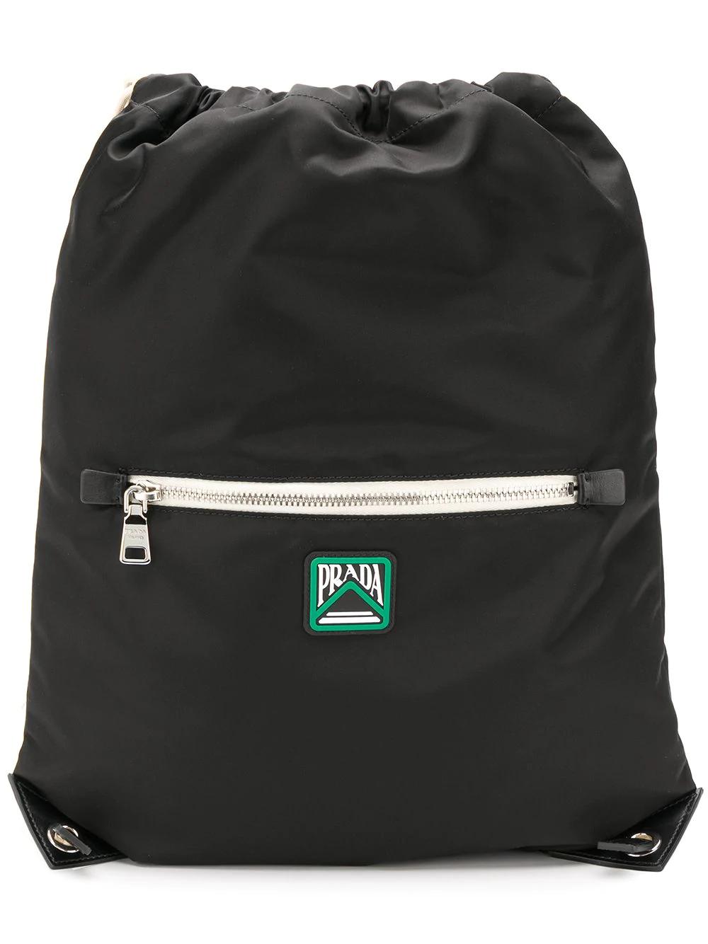 7974a523236e Prada Drawstring Backpack - Black | ModeSens