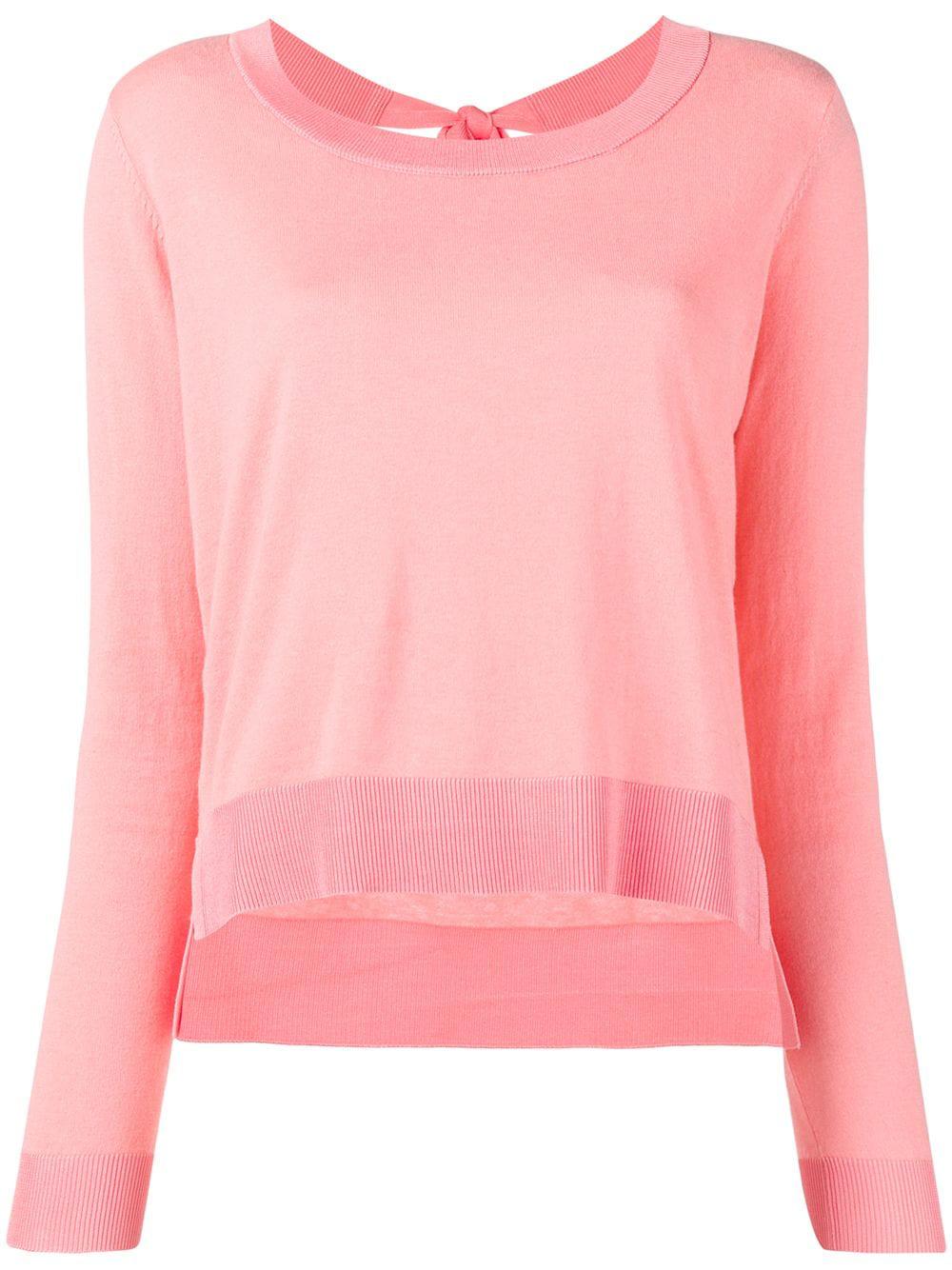 f0a429fff21b73 Twin-Set Fine Knit Sweater - Pink   ModeSens