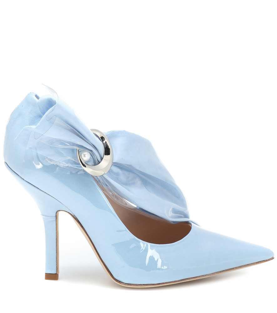 fcc9680ea86 Midnight 00 Embellished Pvc And Cotton Pumps In Blue