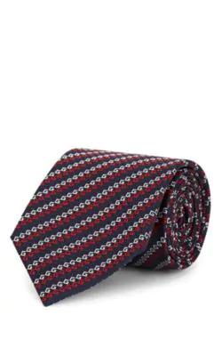 3cc2a3b20 Gucci Gg Silk Jacquard Necktie - Navy | ModeSens
