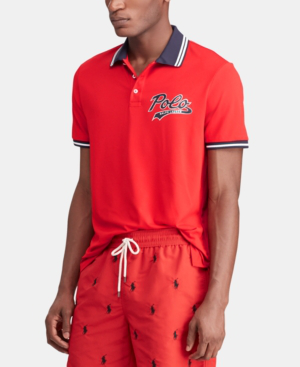 975fbef4c1c53 Polo Ralph Lauren Men s Classic Fit Performance Polo In Rl 2000 Red ...