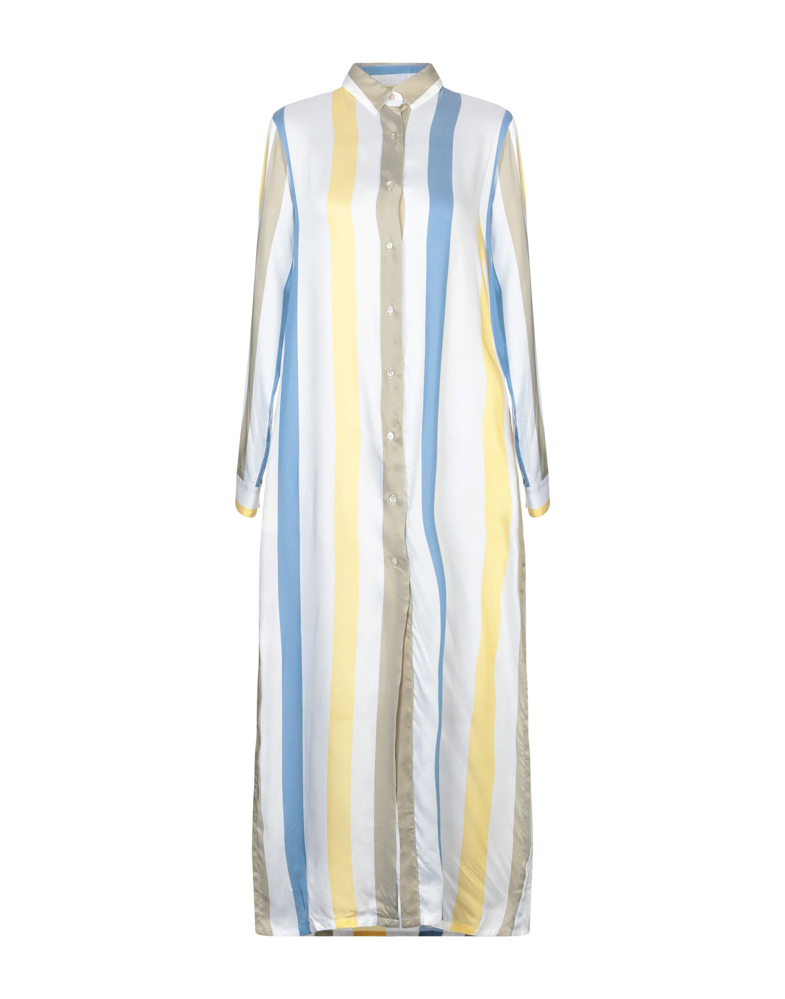 6122d5b53409 Xacus 3 4 Length Dresses In Ivory