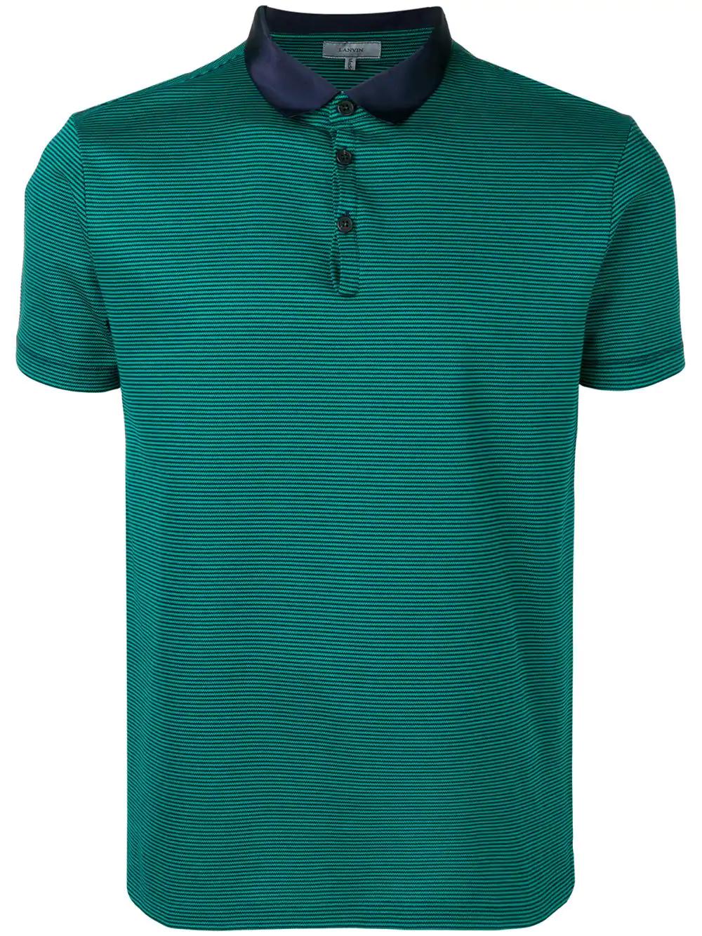1a9bef00ad Lanvin Striped Polo Shirt Green Modesens. Ralph Lauren Childrenswear ...
