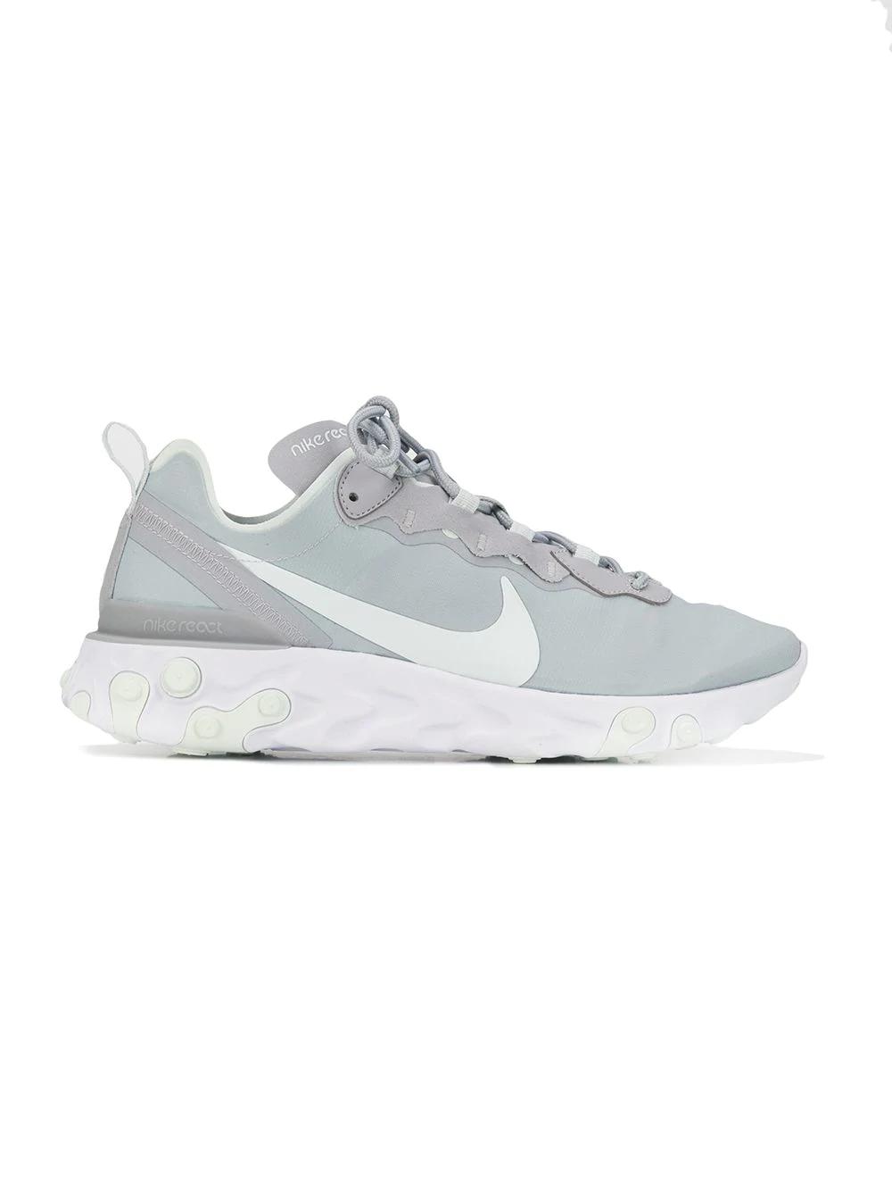 info for 67ece b0478 Nike Women s React Element 55 Casual Shoes, Grey