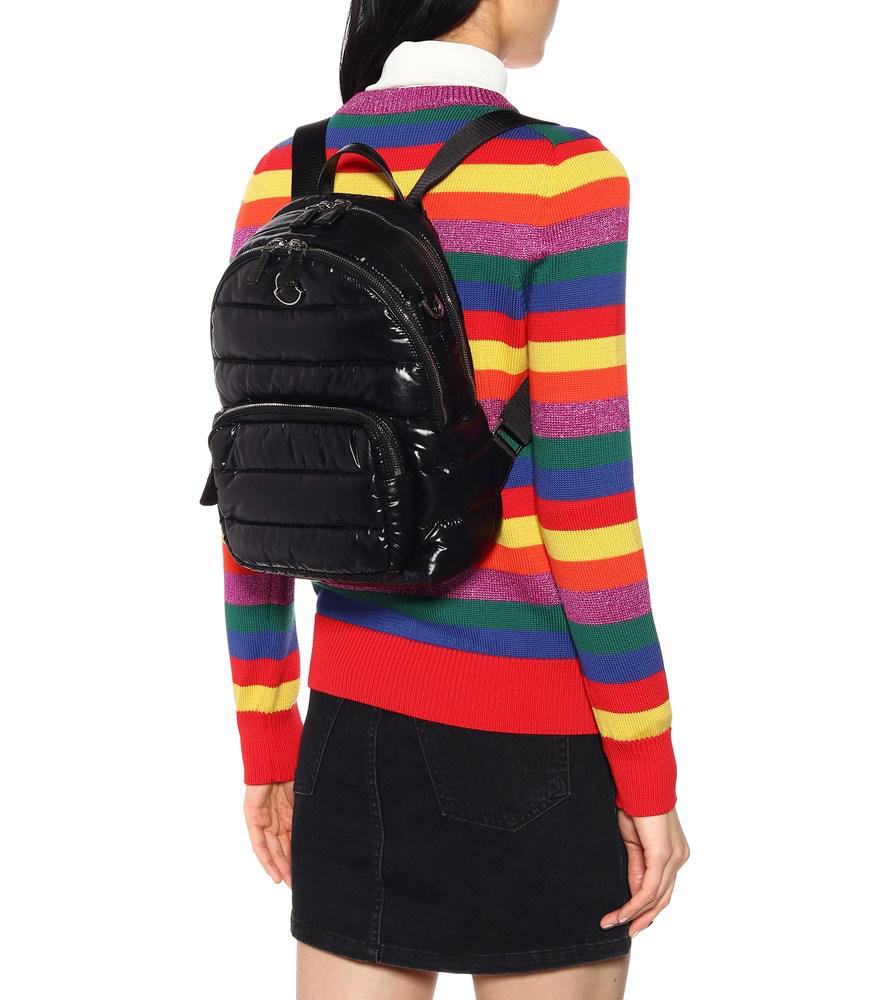 aebac055b Kilia Medium Quilted Backpack in Black
