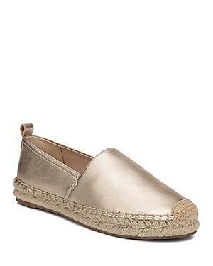 24683525b1fc6 Sam Edelman Women s Khloe Slip-On Espadrille Flats In Molten Gold Leather