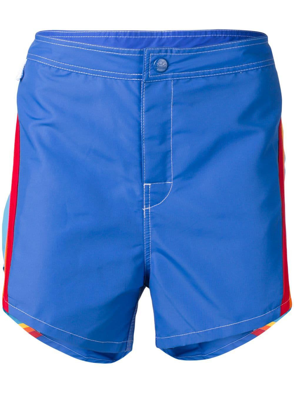 fdadbddf99 Msgm X Sundek Swim Shorts - Blue | ModeSens