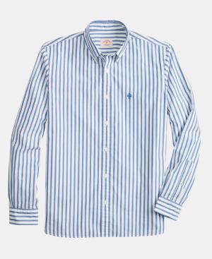b23e7b30a2a6 Brooks Brothers Men's Bold Stripe Oxford Shirt In Blue/White Stripe ...