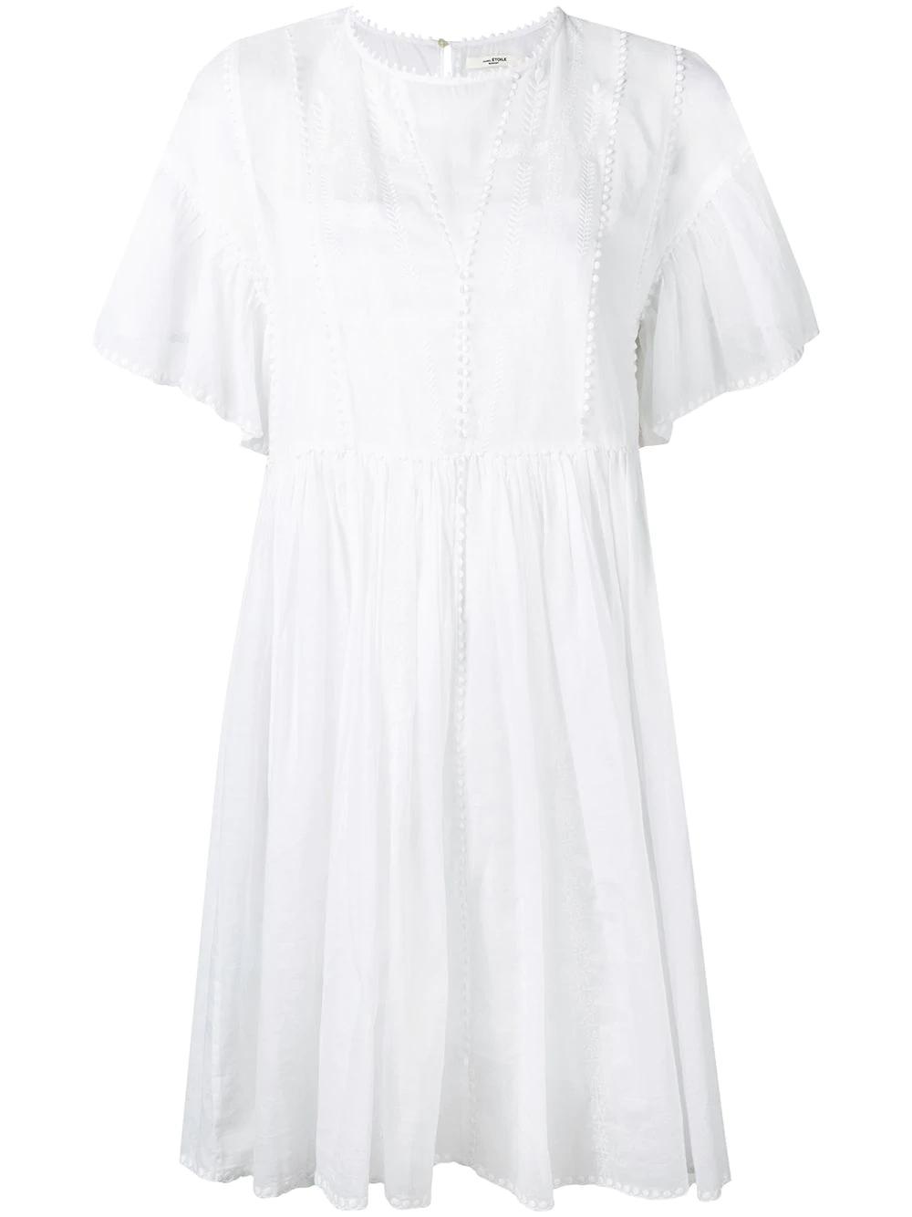 91b81007b1e Etoile Isabel Marant Isabel Marant ÉToile  Amelie  Kleid - Weiß In ...