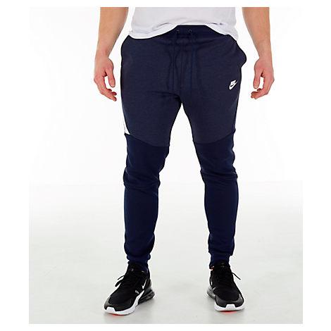 Nike Men S Tech Fleece Jogger Pants In Blue Size X Large Modesens