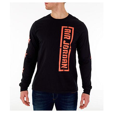 17adc5b21844f8 Nike Men s Jordan City Of Flight Long Sleeve T-Shirt