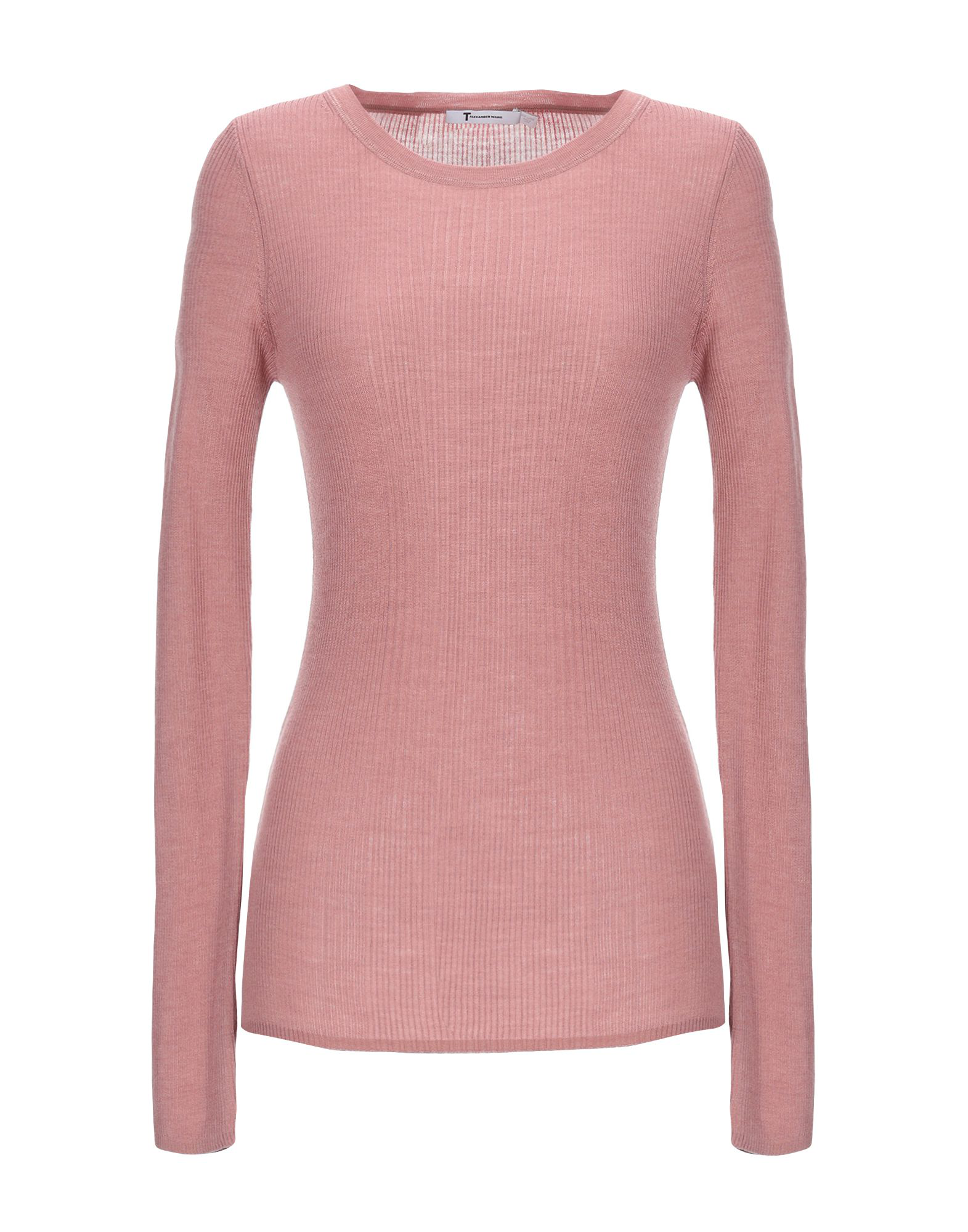 a59dcd5936 T By Alexander Wang Sweaters In Pale Pink