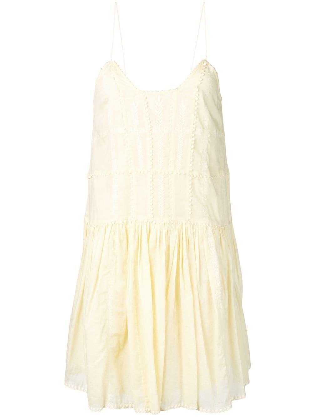 d54dc370541 Etoile Isabel Marant Isabel Marant ÉToile Amelie Dress - Yellow ...