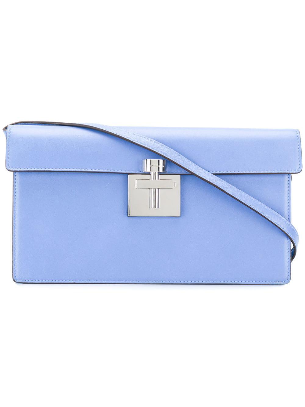 bf5f6e7d794 Oscar De La Renta Alibi Clutch Bag - Blue