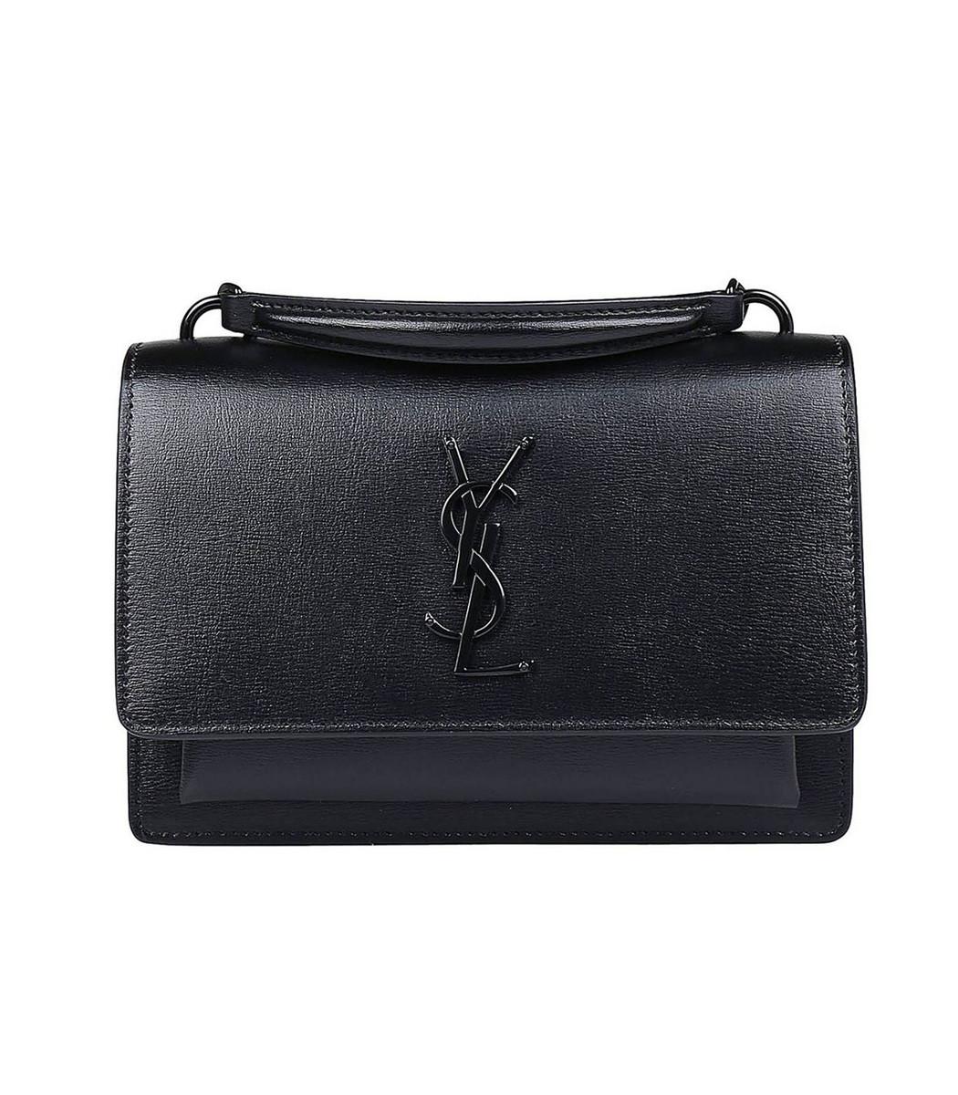 d7e7f863ba2b Saint Laurent Ysl Small Sunset Monogram Bag In Black