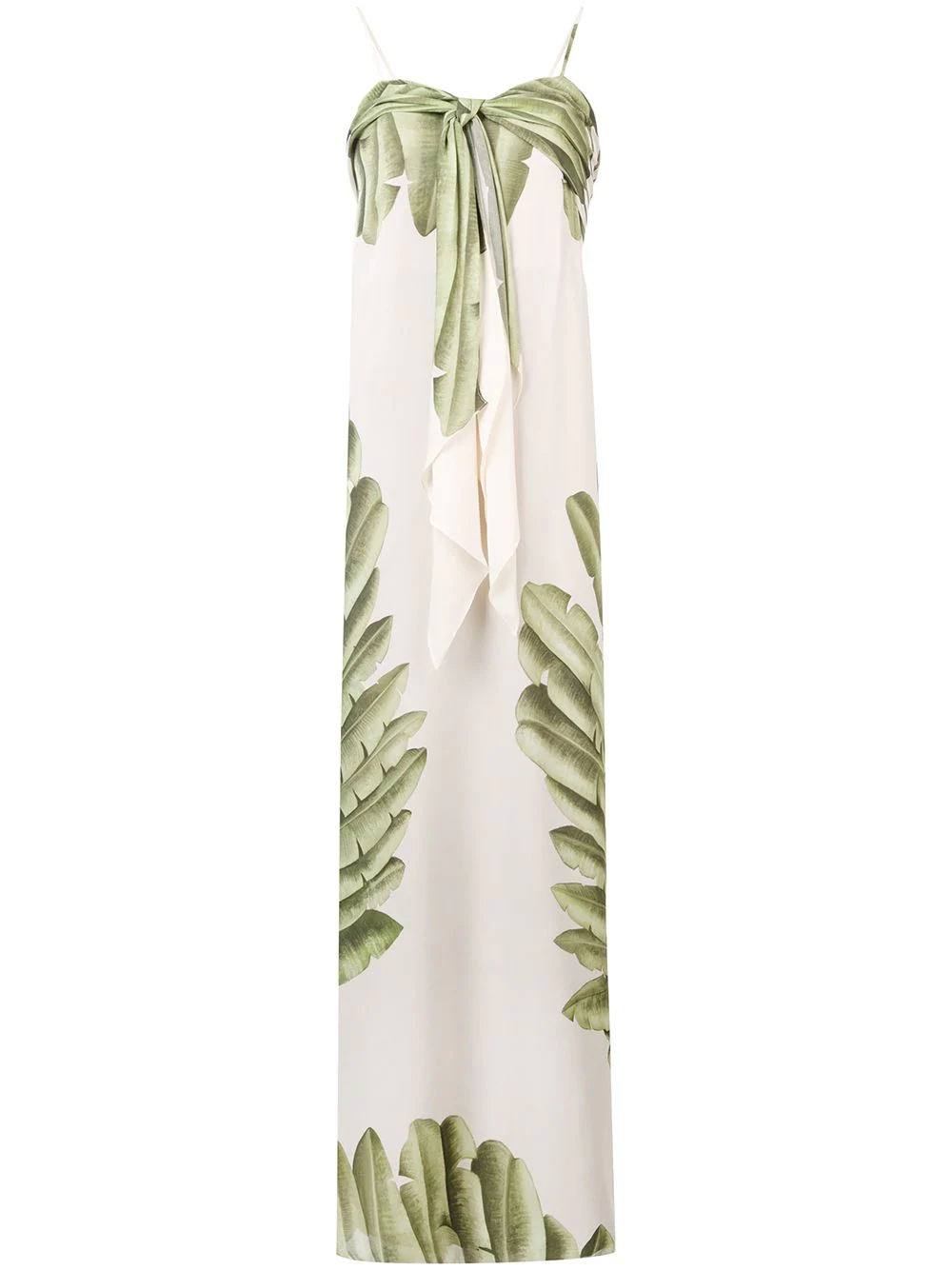 2613558ee7a Johanna Ortiz Palm Tree Print Maxi Dress - Neutrals