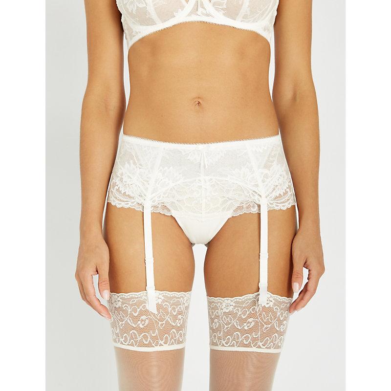 b050e79eab5 Fantasie Bronte Lace Suspender Belt In Ivory