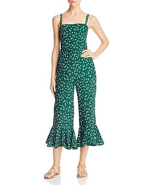 fb5e45da6d1c Faithfull The Brand Lea Floral Print Crop Jumpsuit In Betina Floral Print   Green