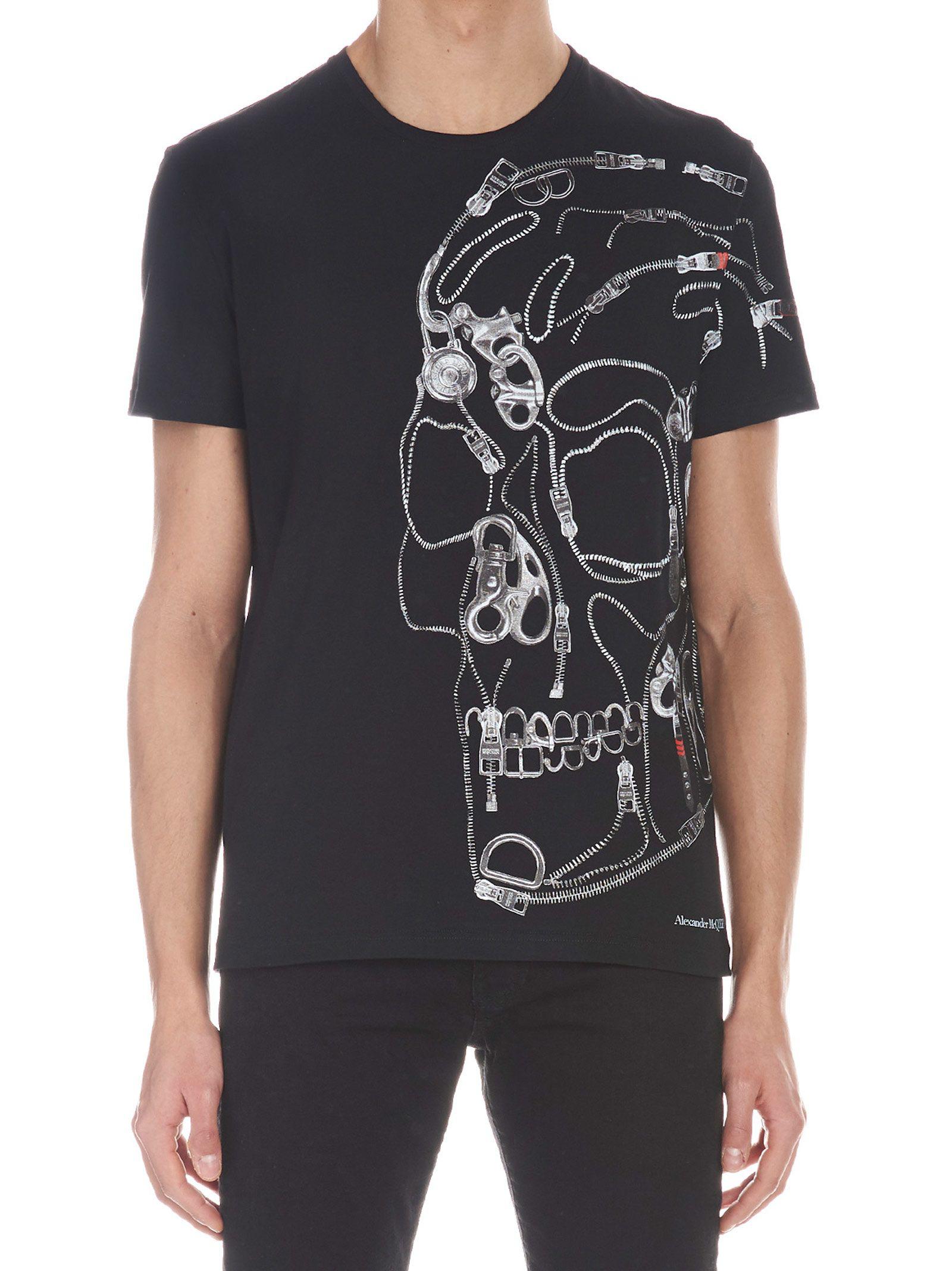 15b87aff Alexander Mcqueen 'Skull Profile' T-Shirt In Black | ModeSens