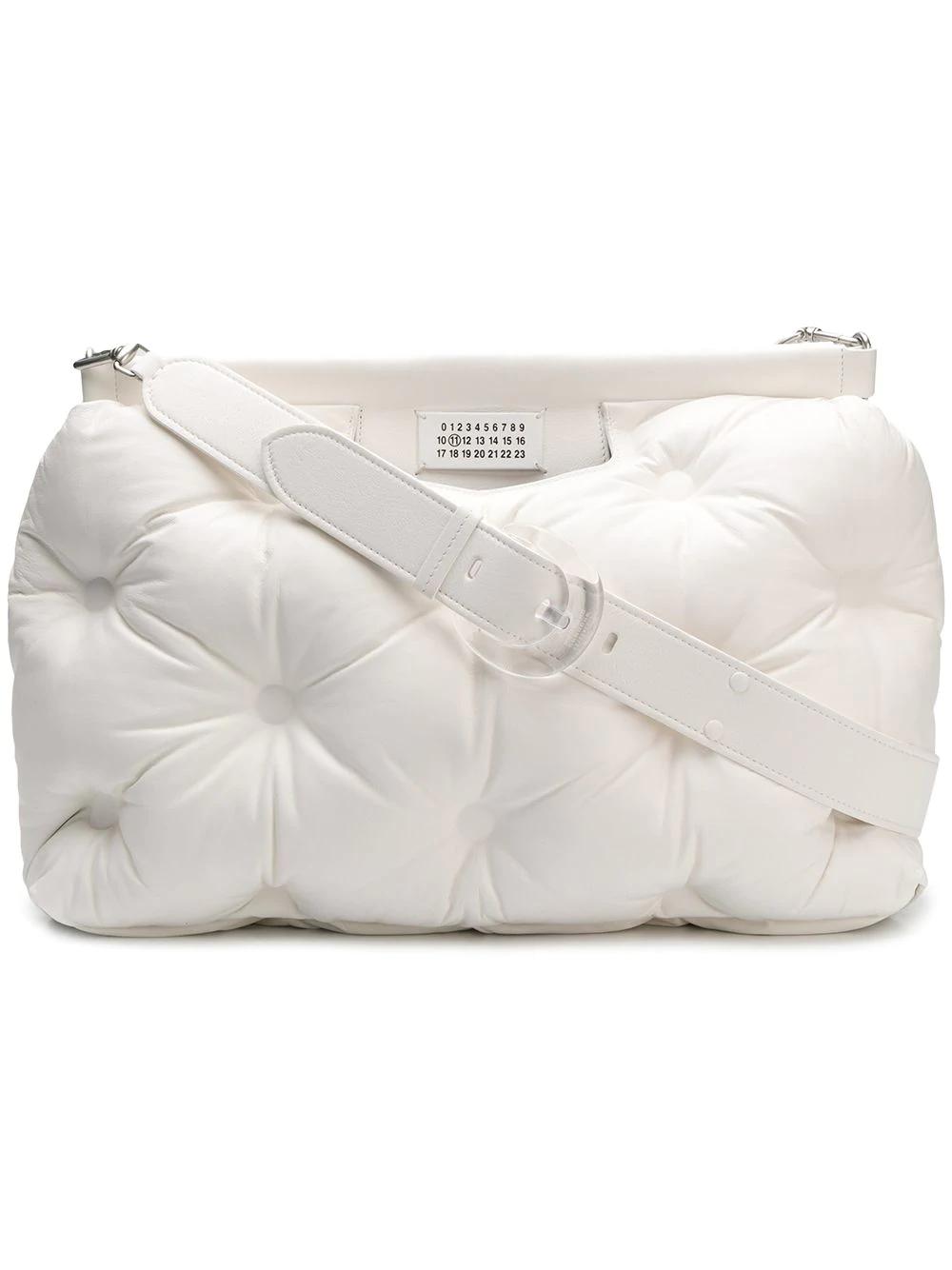 cb19f3561678 Maison Margiela Large Glam Slam Bag - White In T1003 White | ModeSens