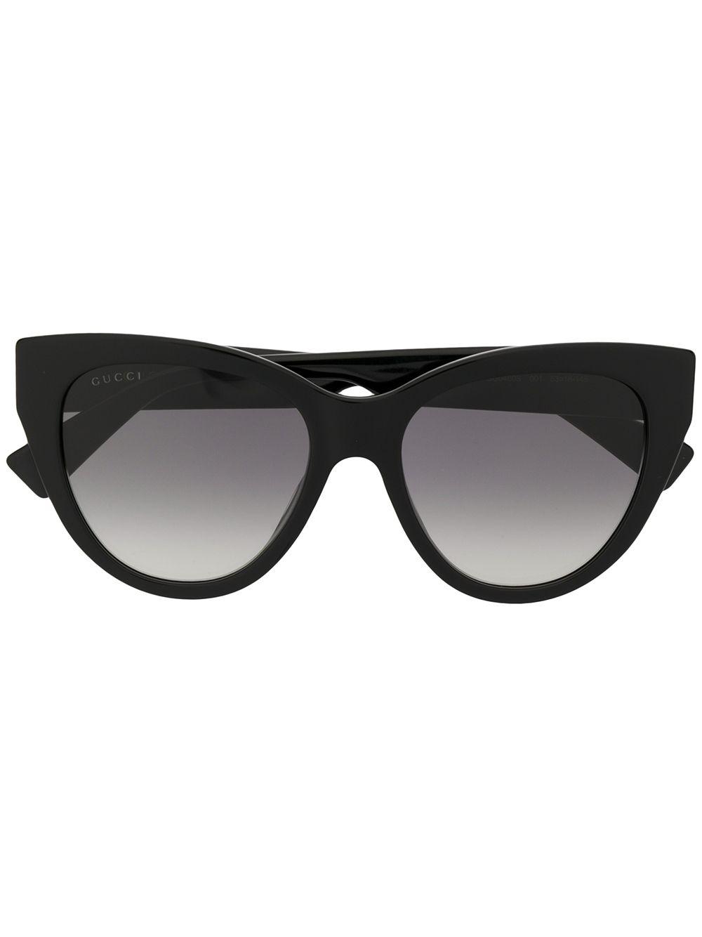 ae7815ea02b Gucci Eyewear Cat Eye Sunglasses - Black