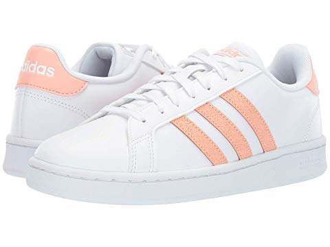 size 40 c2fed 02fd9 Adidas Originals Grand Court, Footwear White Dust Pink Footwear White