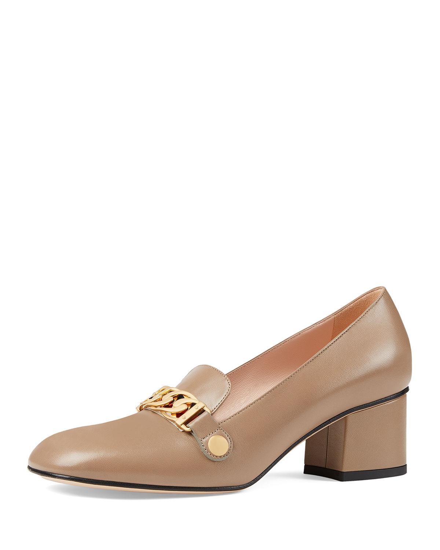 45a7bd8de23 Gucci Sylvie Leather 55Mm Loafer