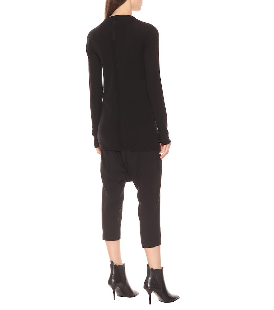 RICK OWENS WOOL SWEATER,P00356898