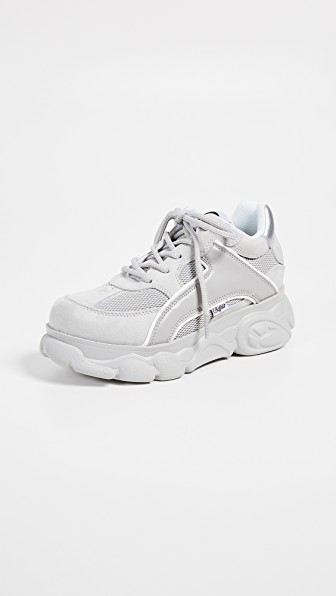 babd647a9 Buffalo London Colby Sneakers In Light Grey