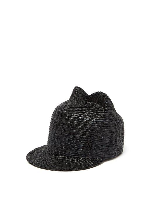 63a24cf85911a Maison Michel - Jamie Straw Hat - Womens - Black