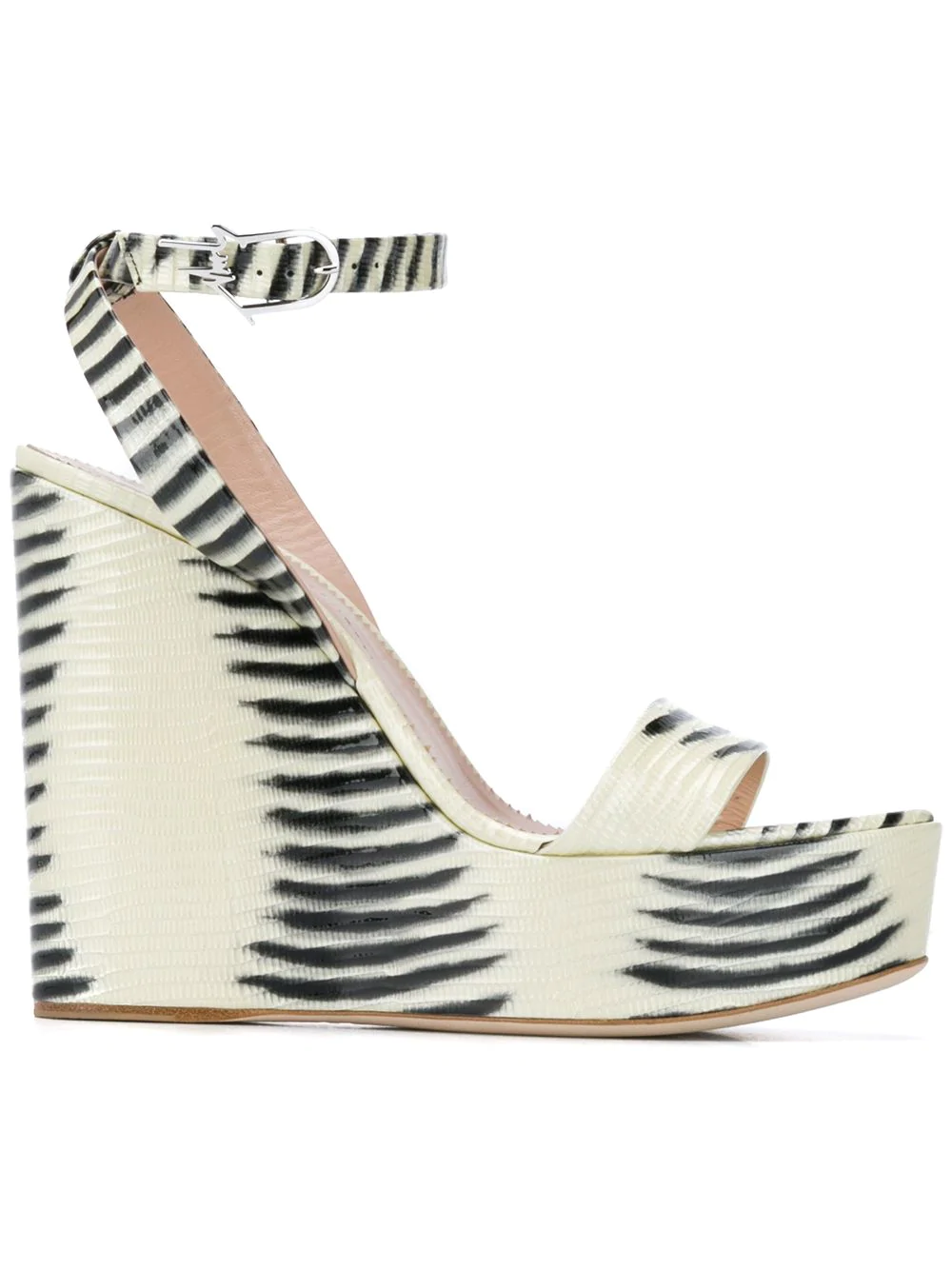 36f6696499 Giuseppe Zanotti Women's Gypsy Wedge Platform Sandals In White ...