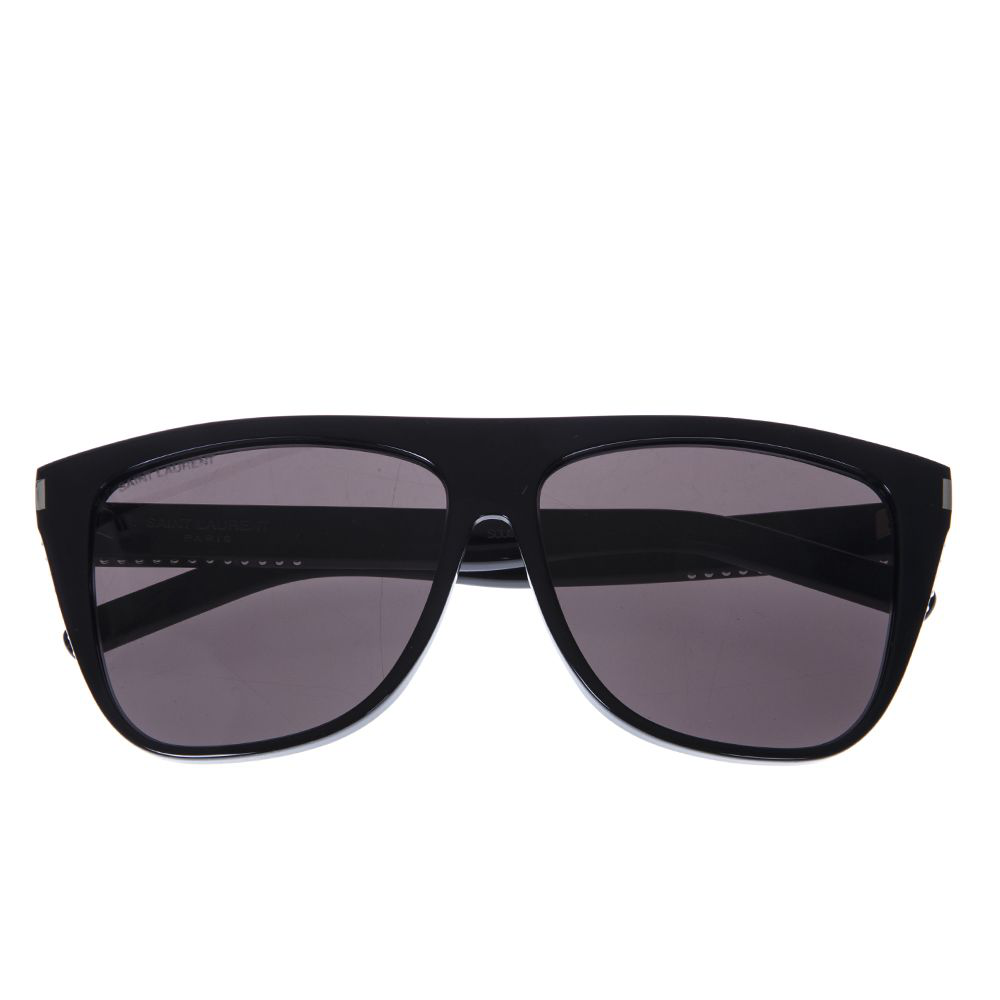 2463665aa46 Saint Laurent New Wave Sl1/F Stars Sunglasses In Black/Grey   ModeSens